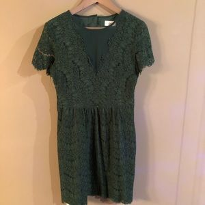 Dolve Vita Green Dress Size Large L